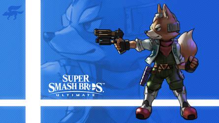 Super Smash Bros. Ultimate - Fox by nin-mario64