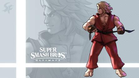 Super Smash Bros. Ultimate - Ken by nin-mario64