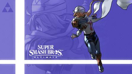 Super Smash Bros. Ultimate - Sheik by nin-mario64
