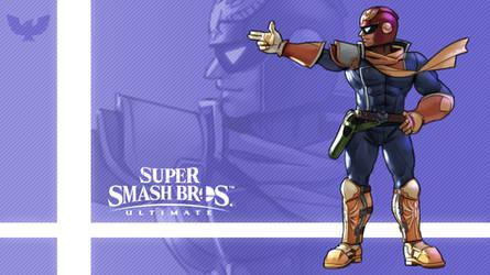 Super Smash Bros. Ultimate - Captain Falcon by nin-mario64