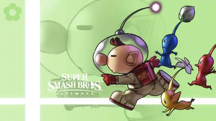 Super Smash Bros. Ultimate - Olimar by nin-mario64