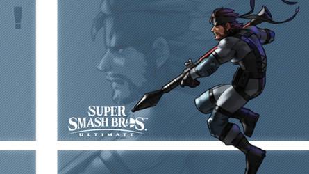 Super Smash Bros. Ultimate - Snake by nin-mario64