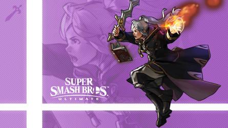 Super Smash Bros. Ultimate - Robin (Alt.) by nin-mario64