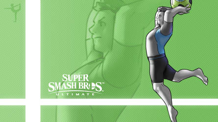 Super Smash Bros. Ultimate - Wii Fit Trainer (Alt) by nin-mario64