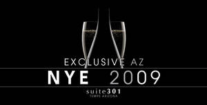 2009 NYE Party Poster