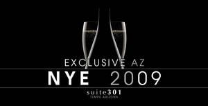 2009 NYE Party Poster by Vikingjack