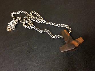 my Ironwood Hammer by Vikingjack