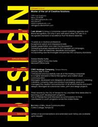 Resume by Vikingjack