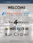 HostingCon BarCrawl Poster