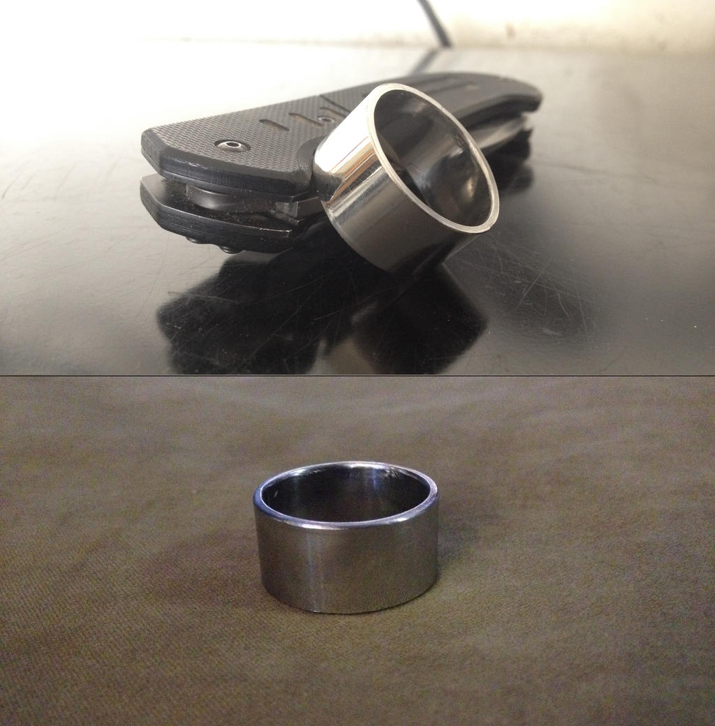Stainless Steel Rings Men With Color Inside