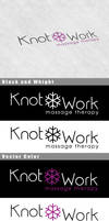 Knotwork Message Therapy Logo