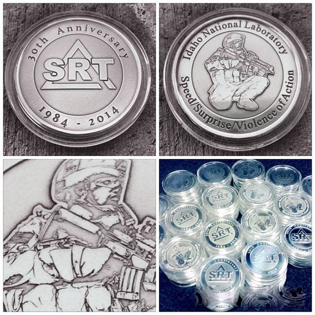 SRT Challenge Coin 2014 by Vikingjack
