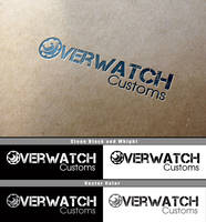 Overwatch Logo Mockup by Vikingjack
