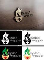 Herbal Prepper Logo Mockup by Vikingjack