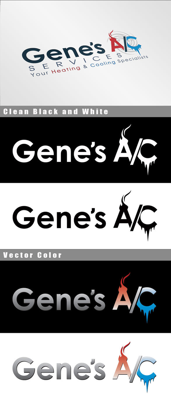GenesAC Logo Mockup by Vikingjack