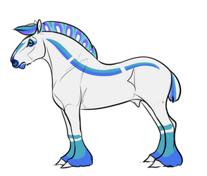A715 AS Le Paon d'Argent by AhernStables