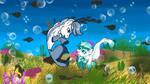 Oceanpearl Fun by AhernStables