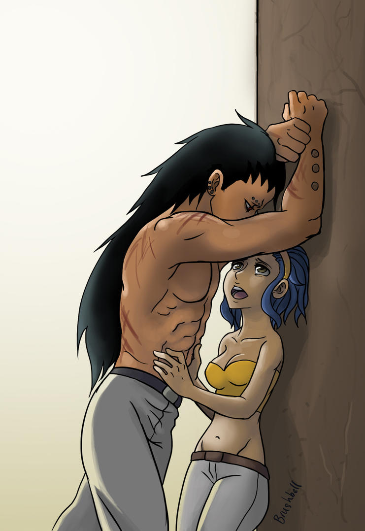 DeviantArt: More Artists Like Gajeel x Levy One shot - Laugh by