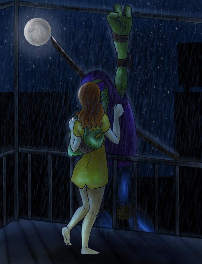 Kiss Me In The Rain By Brushbell On Deviantart