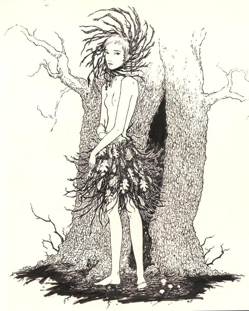Forest Nymph by RandallFischer