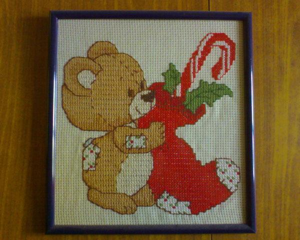 X'mas Teddy Bear by 13thFallenAngel