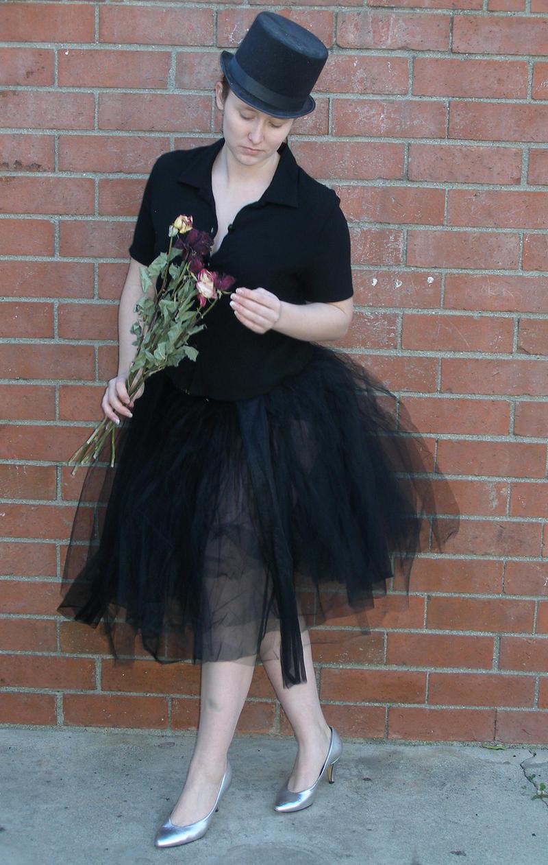 black tutu 9 by PhoeebStock