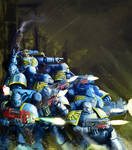 spacemarines know no fear