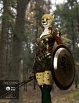 Cheetah for DAZ Genesis 3 female
