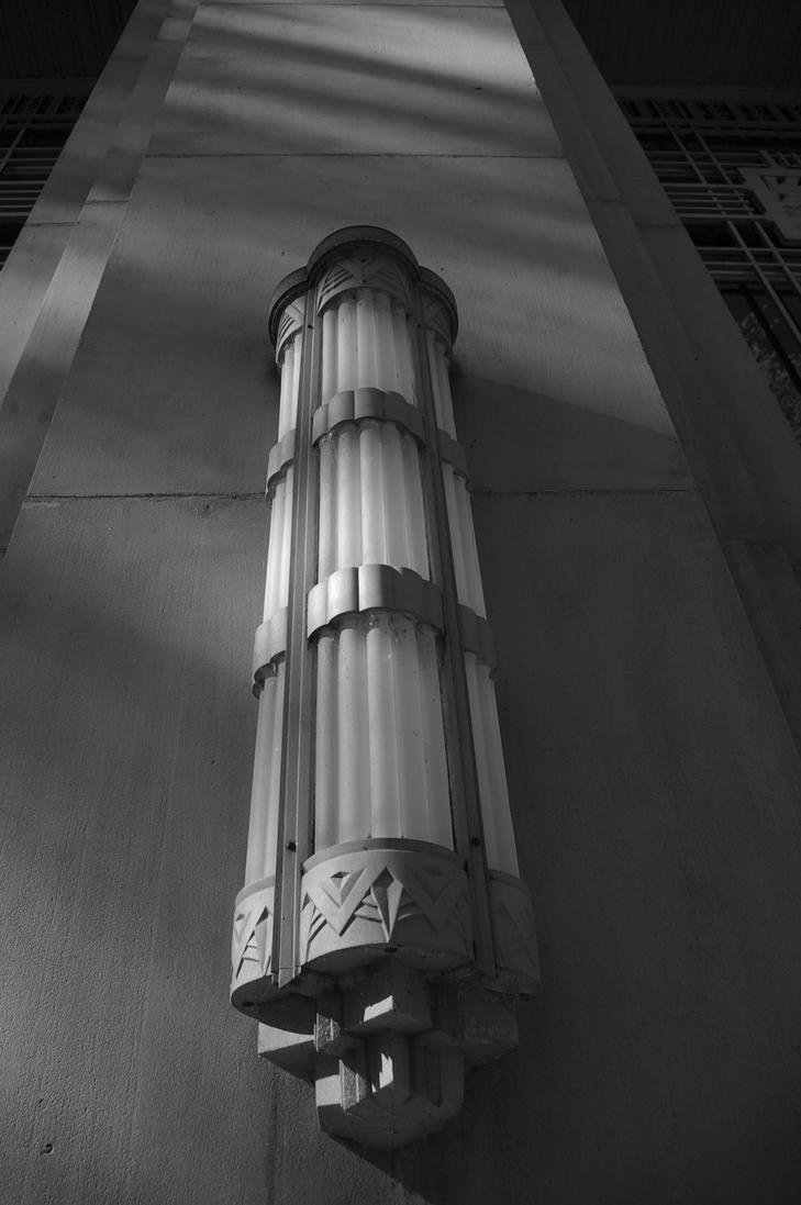 Art Deco Light Fixture By