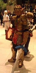 Link - Magic Armor Debut by Keisos