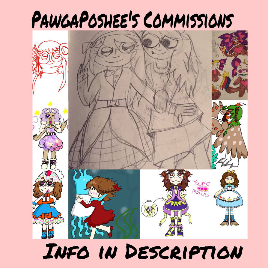 EMERGENCY COMMISSIONS(OPEN) by PawgaPoshee