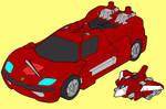 Sideswipe-Vehicle Mode