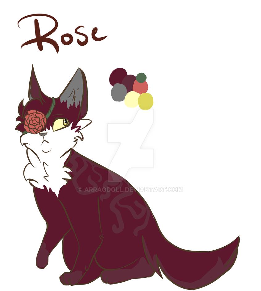 Rose by arRagdoll