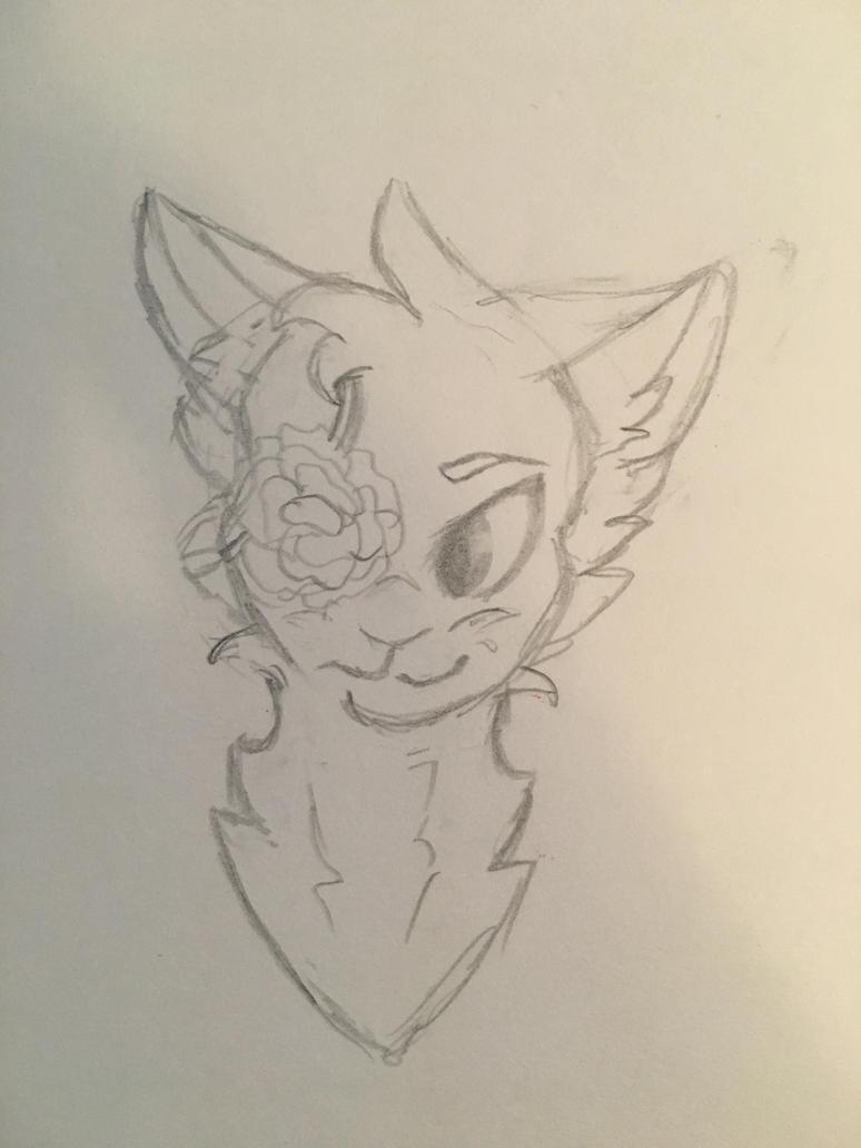 Rose - Sketch by arRagdoll