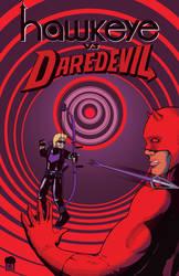 Hawkeye-vs-Daredevil by CowlessCorner