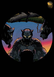 Black-panther-design by CowlessCorner