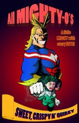 Boku no hero academia All Mighty-O's by CowlessCorner