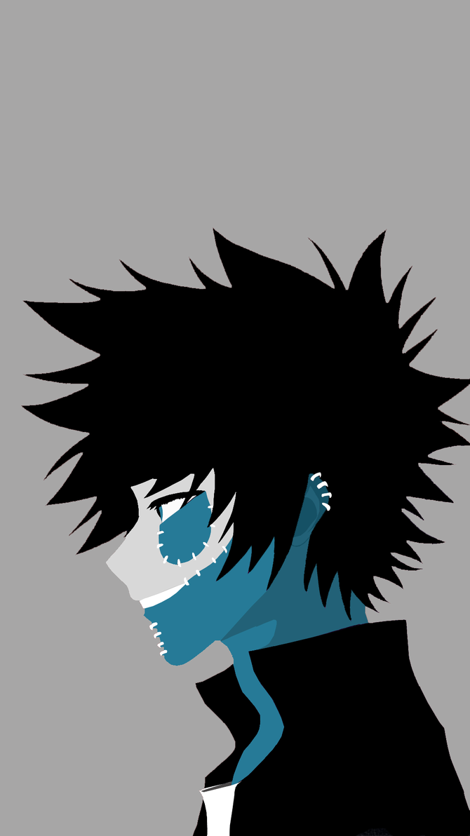 Dabi Wallpaper Phone Gray By Chokage On Deviantart