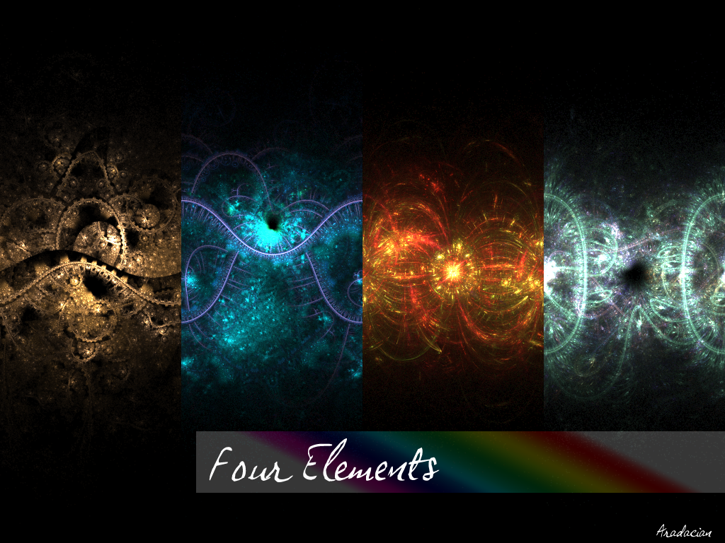 Four Elements Art : Four elements by aradacian on deviantart
