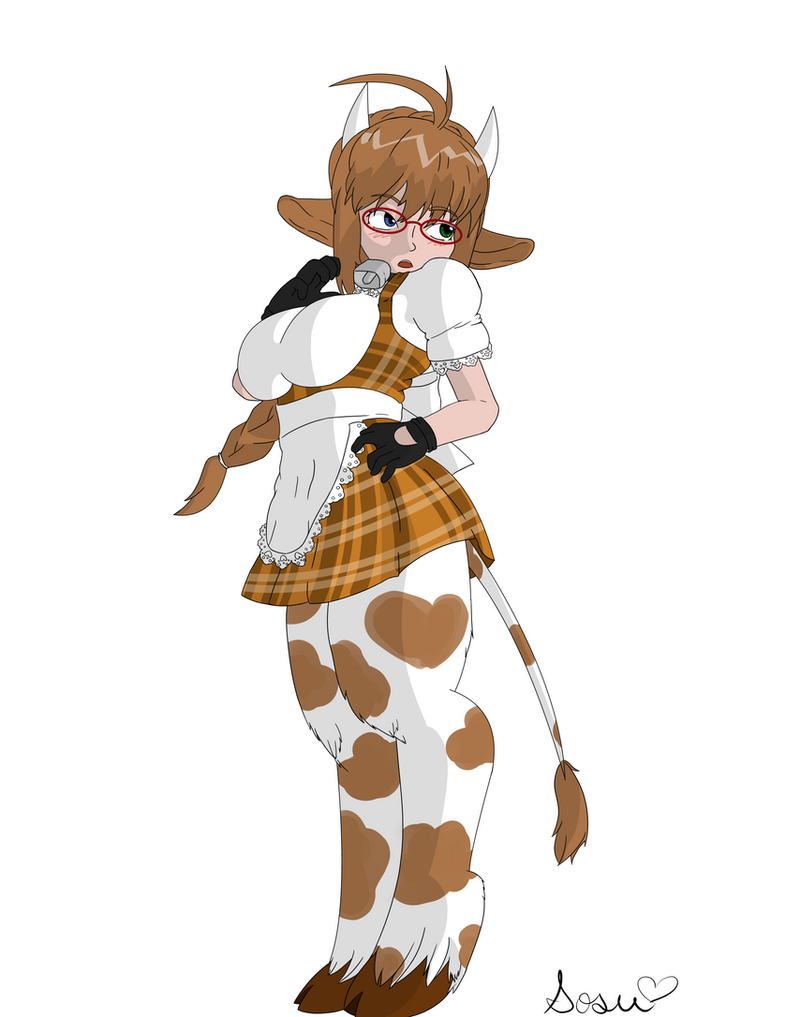 Cow girl by Mystmyst29