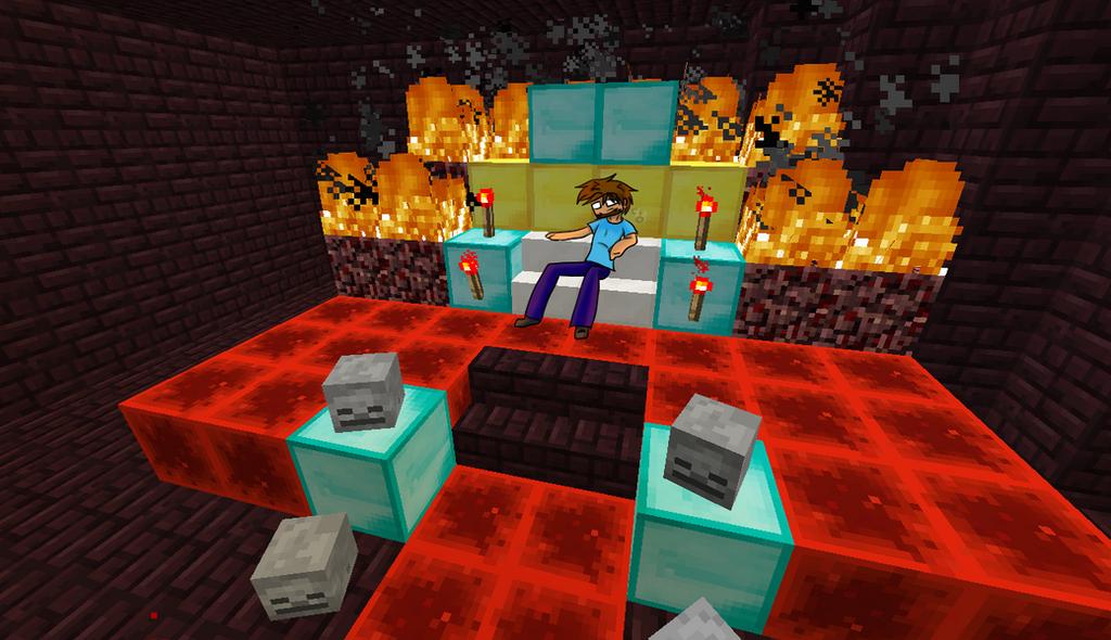 Как сделать трон херобрина 740