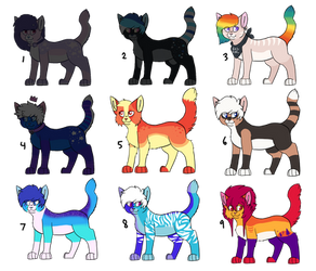 Kitty Adopts [6/9 OPEN] (Lowered prices!)