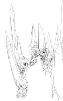 Transformers Movie Cyclonus WIP