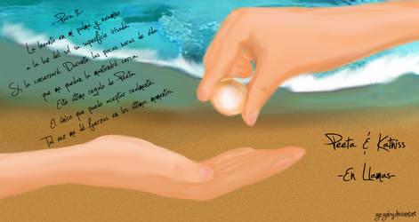 Katniss and Peeta - The pearl