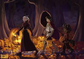Trick or Treat | The Dragon Prince by Kongyo