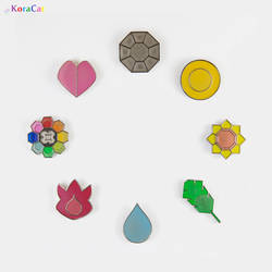 Kanto Gym Badges by winter-wish