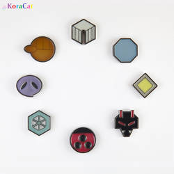 Johto Gym Badges by winter-wish