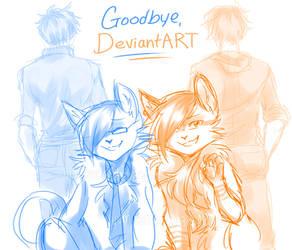 Goodbye, DeviantART by yumisuu