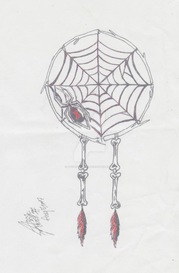 How To Make A Spider Web Dream Catcher Spider Web Dream Catcher by atomxevil40 on DeviantArt 33