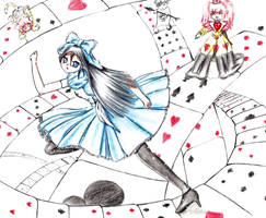 Alice in wonderland by Phantom-of-Iori